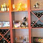 Careful not all the wine is good .. but some good choices available