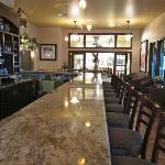 Bar area - nice decor