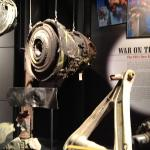 Pieces of plane that hit the World Trade Center