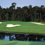 Designed by Joe Lee, the Magnolia course has plenty of pitfalls.
