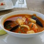 Our favorite seafood soup