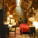 Al Capone's cell--furnished in the manner he had it