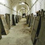 looking down a cellblock