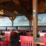 Interior Murals at Seabreeze Restaurant