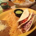 This was a really nice surprise, great fish tacos.