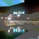 The Sea Foam at night