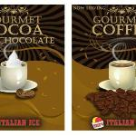 Mike's offers delicious gourmet Hot Cocoa and Coffee...enjoy it with a dab of premium Ice Cream!