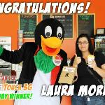 We love our customers! We love our fans! Congrats to the lucky winner!