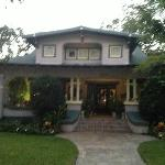 Front of the Chez des Amis House