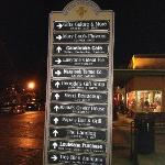 Street signs on Front Street