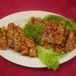 甜酸素鸡 Sweet and sour vegetarian Chicken