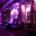Le salon en soirée
