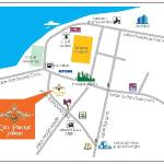 Map - Stategic Location in the heart of the city
