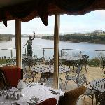 Our Restaurant overlooking the lake