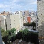 The view towards Tour Eiffel