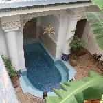 la piscine du patio