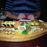 sushi boat for two