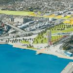 VIEW OF THE PORT & FUTURE IMPROVEMENTS