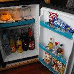 Minibar in camera...anche le Haribo!!