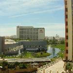 Blick von Rückseite des Hotels