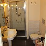 Bathroom in a superior room