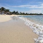 Relaxing beach side