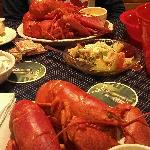 5 lobsters for 2!