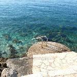 Einstieg ins Meer