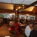 The restaurant in the inn