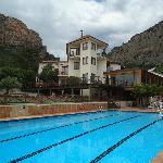 Pool in heavenly surroundings