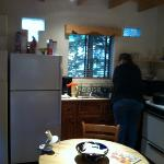 kitchen complete with all we needed