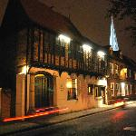 Tudor Rose at Night