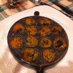 lumache con verdurine