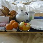 Breakfast in bed - a luxury extra but worth it once in a while