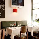 L&I Bar Restaurant München Innenansicht