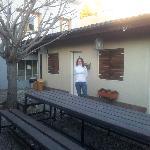 Habitación que daba al patio