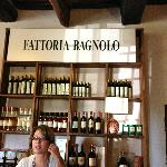 The first winery of the Chianti tour