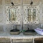 salle de bain de la grande chambre