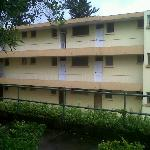 Block where room was