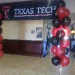 Lobby- during home Texas Tech Football Games