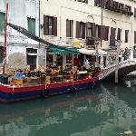 The famous fruit barge on Fondamenta Gherardini