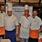 Cocineros y camareros, ¡geniales!