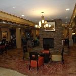 Breakfast area and lobby