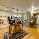 Serenity Spa Reception Area