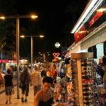 cala millor at night