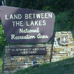 Entering Land between the Lakes