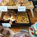 Pies, quiche, savouries, more cakes...