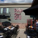 Rudy's patio
