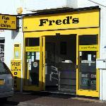 Fred's Fish & Chip Shop, Littlehampton, West Sussex, England