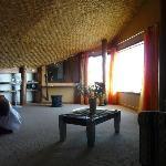 Chambre à l'étage dans La Villa